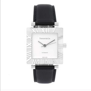 Tiffany & Co Atlas Sterling Silver Automatic Watch